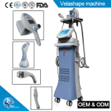 100W Velashape Body Shaping vacuum cavitation slimming machine with RF Roller Massage