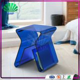 Colorful Acrylic Piano Stool Indoor Lucite Ottomans Living Room Light Eco-Friendly Kids Stool