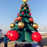 6m Height Beautiful Inflatable Christmas Tree for Shop and Event Decoration