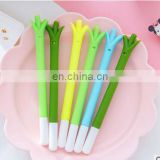 Green Onions gel pens for writing 0.38mm black ink signature pen stationery office school supplies