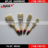 Wholesale plastic handle paint brush 100 pure boiled bristle brushes