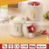 ROLASE Wheat and rice hulls fiber,degradable material milk powder canister