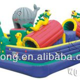 inflatable fun city, inflatable bounce house