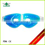 Transparent PVC Cover Reusable Hot Cold Pack Eye Shape