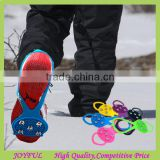 Hotting winter silicone anti-slip ice grip shoe covers