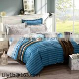 Home Textile beautiful bedding set, 100 % polyester bedding set, bed sheets for double bed
