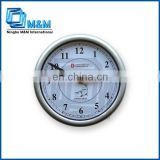 Round cheap wall clocks wholesale special dial design