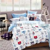 pigment printed cotton <b>fabric</b> <b>duvet</b> <b>cover</b> set