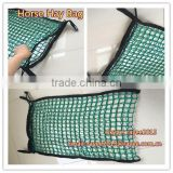small hay baler mesh bag hay bag cover 3ftx3ftx8ft square bale,horse hay bag horse feeding bag, horse hay bag
