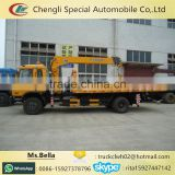 5-8 ton Hydraulic Engine Crane Mounted On Road Wrecker Truck