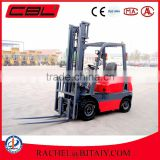 China automatic transmission 2ton diesel engine forklift truck