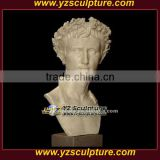 western marble david bust sculpture for sale