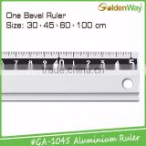 Promotional measuring level aluminum metal scale ruler