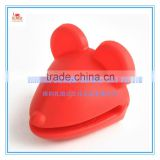Red color Koala shape Special Technology silicone Gloves, red color Koala shape food grade Silicone gloves