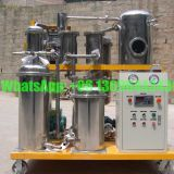 Stainless Steel Durable Lubricating Oil Purifier, Hydraulic Oil Purification Machine, Gearbox Oil Filtration Plant