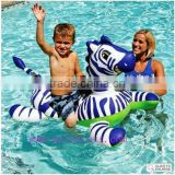 Inflatable animal rider