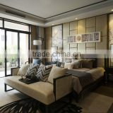BISINI Modern Chinese Style Bedroom Design in Manor
