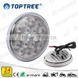 12V 24V LED Auto Light Tractor Work Light round led Agriculture and Tractor Lights