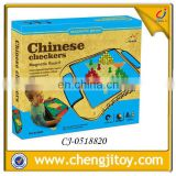 Middle Chinese checkers magnetic board games
