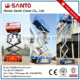 China Electric Hydraulic Scissor Lift Table Working Platform Self propelled Scissor lift indoor Stationary Use