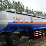 Top quality 45m3 10000 gallon petrol fuel tank trailer