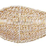 Triveni Paper & Plastic Leaf Shaped Medium Basket LBSK02
