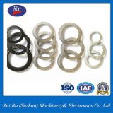 Black Finishing DIN9250 Double side knurl lock washers with ISO