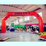 Orange Inflatable Advertising Arch for Outdoor Event