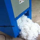 Polyester ball fiber machine