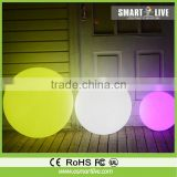 new fashion design low power consumption solar led ball light outdoor