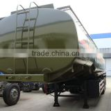 customized Chengli 5 compartments 40m3 tri-axle oil tank trailer