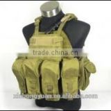 PI style lightweight 9 bags military green tactical bulletproof vests