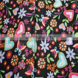 97%cotton 3%spandex cotton spandex sateen fabric/woven fabric