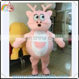 Promotion dragon mascot costume, plush animal character cosplay costume for adult