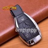 Mercedes-Benz E-Class C-class car replacement smart remote control key shell metal bright side shell