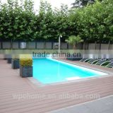 Antiseptic wood plastic composite decking waterproof laminate flooring wpc decking