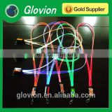 New Design hot sale LED flashing colorful lanyards for girl