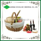 2014 new cheap takeaway handmade rattan willow food container