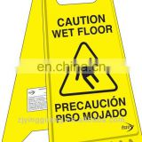 2013 New Style Yellow Safety Sign Made of PP, Weighs 560 to 800g