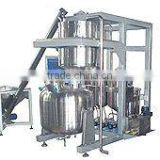 Syrup automatic ingredients weighing and mixing system