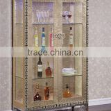 2015 best seller champagne wine cabinet /stainless steel Display Cabine C106-2