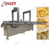 Multifunctional Banana Chips Continuous Fryer|Gas Heating Potato Chips Frying Machine