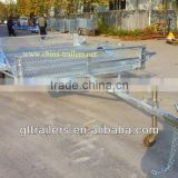 Galvanized Single Axle ATV trailer for two ATVs