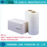 Environmentally friendly machine packaging stretch film roll
