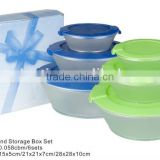 6pcs PS Round Storage Box Set TH-768