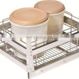 Hot sale garment wire shopping trolley for supermarket