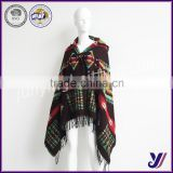 factory hot sale fashion Wool felt woven ladies scarf shawls with hat Professional manufacturer(Can be customized)