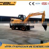 CBL-135 hitachi excavator wheel excavator for sale