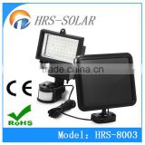 60 LED Outdoor Security Solar Powered Pir Motion Sensor Light