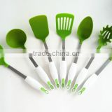 7pcs nylon kitchen toolings with stainless steel handle